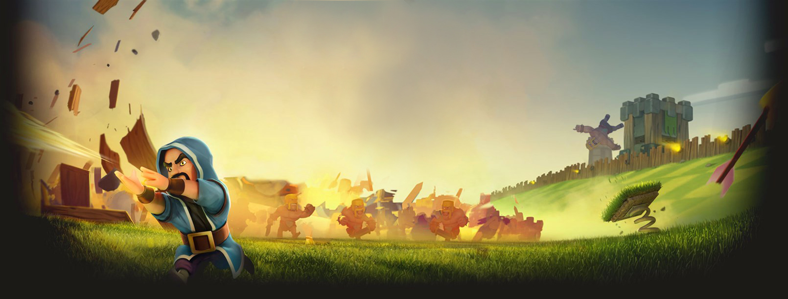 Clash Of Clans Background 1610x612