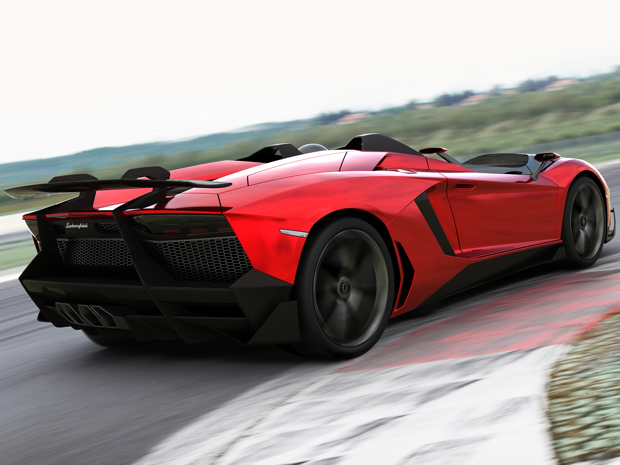 Lamborghini Aventador J 2012 Computer Wallpapers Desktop Backgrounds 2048x1536