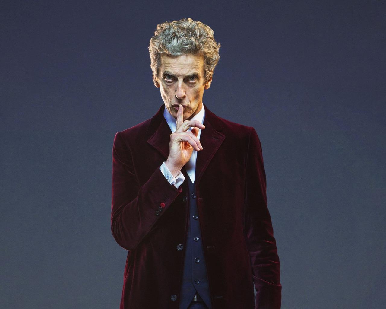Download wallpaper 1280x1024 doctor who twelfth doctor peter 1280x1024