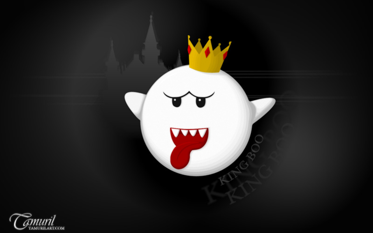 King Boo   Nintendo Villains Wallpaper 25771649 1280x800