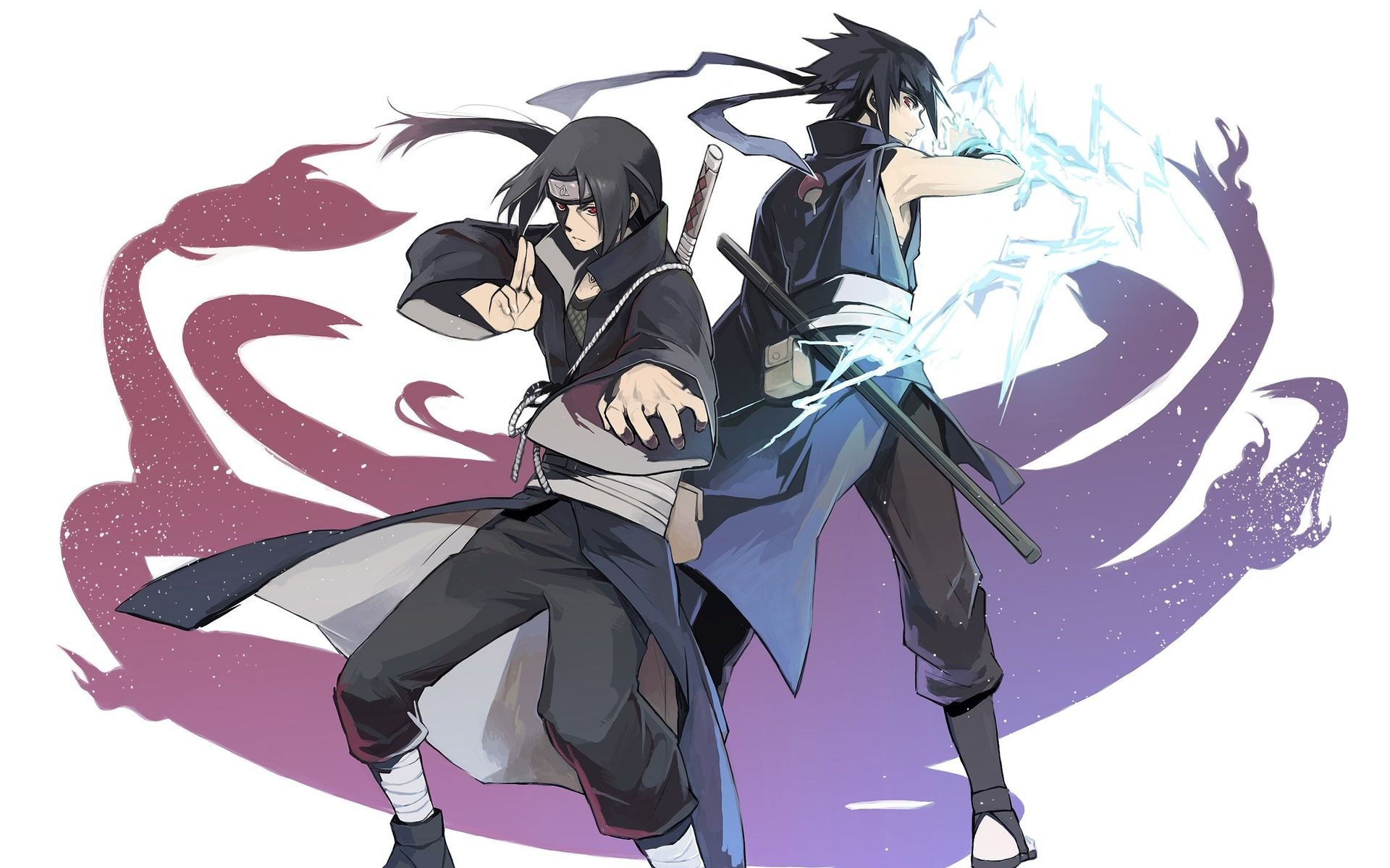 45 Sasuke And Itachi Wallpaper Hd On Wallpapersafari
