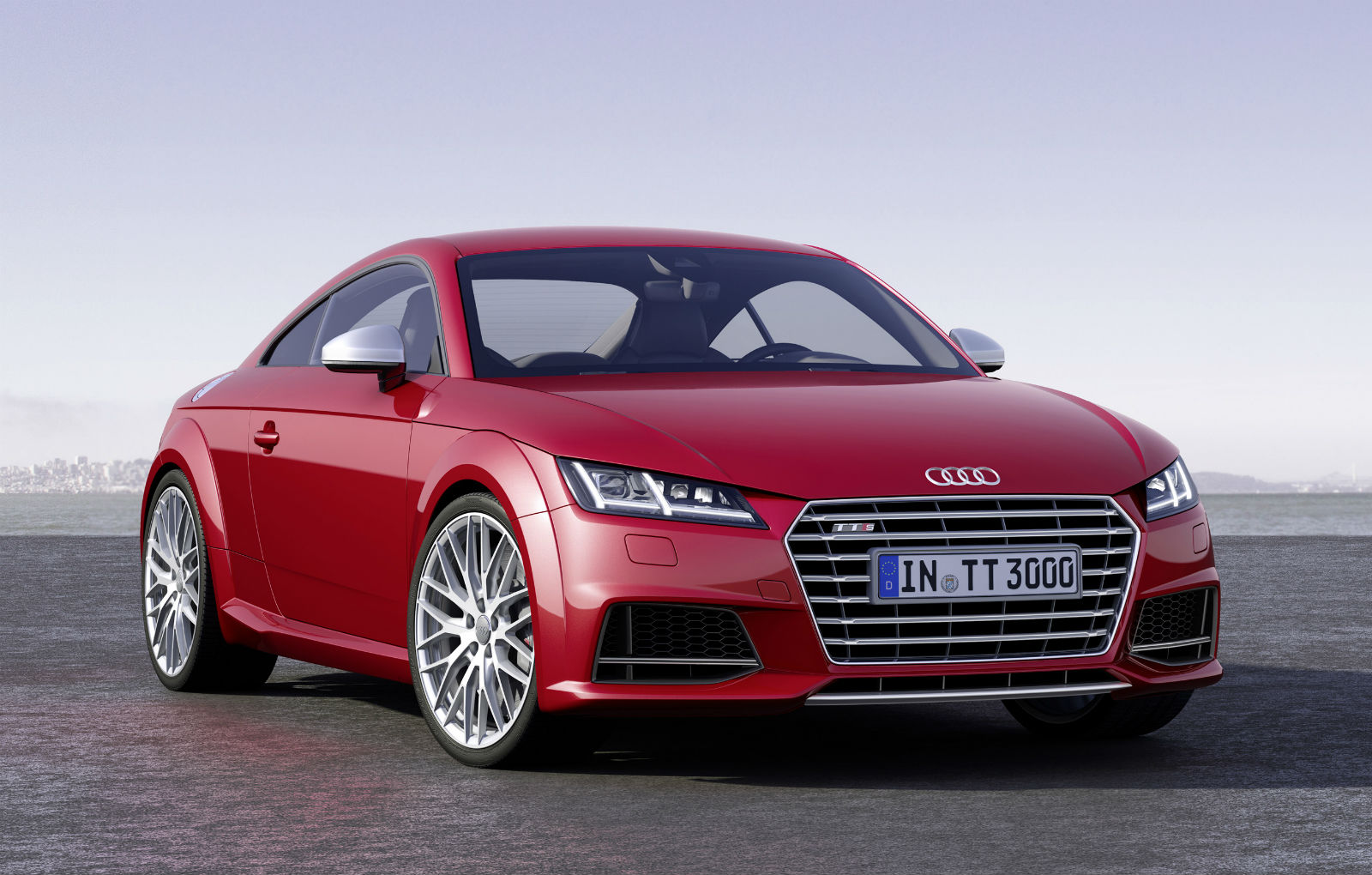 2015 Audi TTS Sport Car Wallpaper   HD 1600x1020