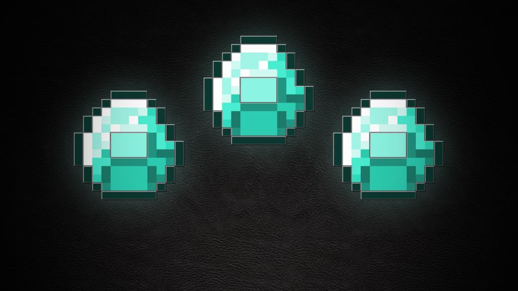 сделать картинки алмазы в майн участвовавших ликвидации