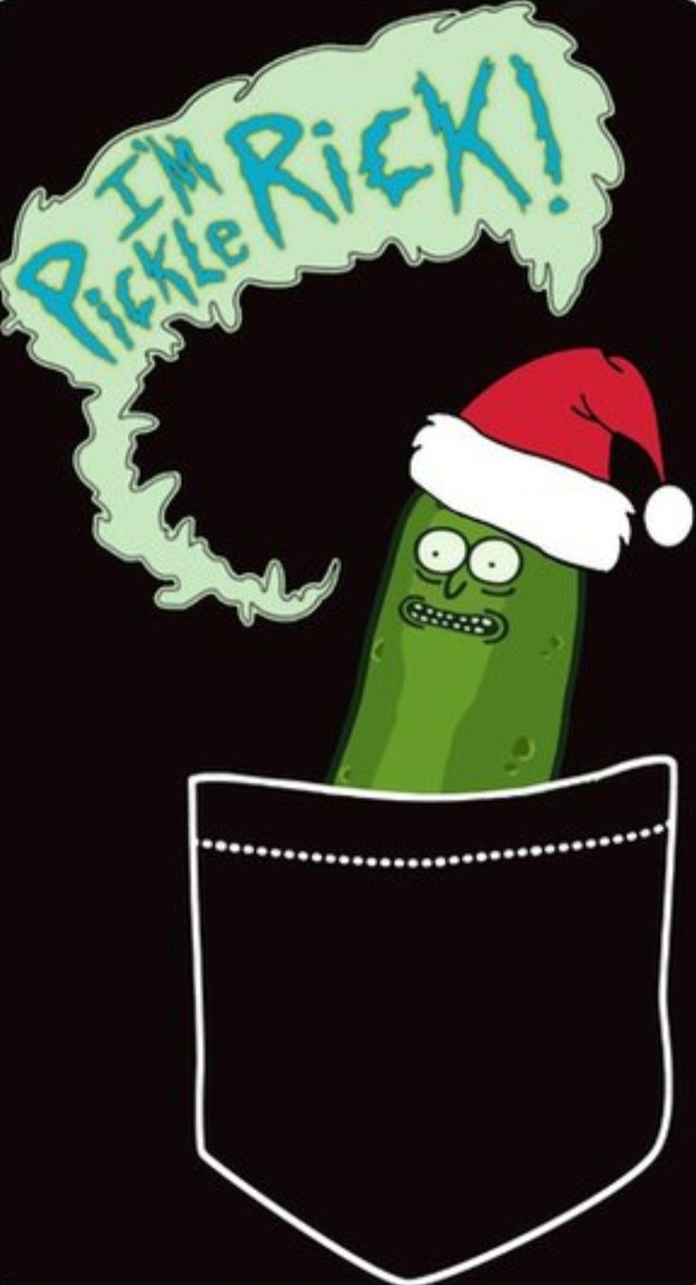 Rick and Morty Pickle Rick Christmas Rick morty Christmas 1006x1858