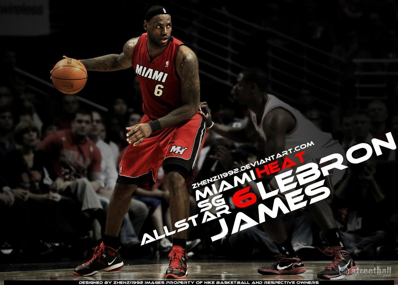 Lebron James Miami Heat Wallpapers 1280x918