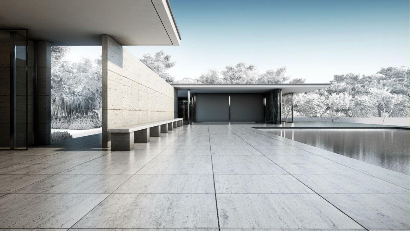Minimalist Architecture Wallpaper | Desktop Image