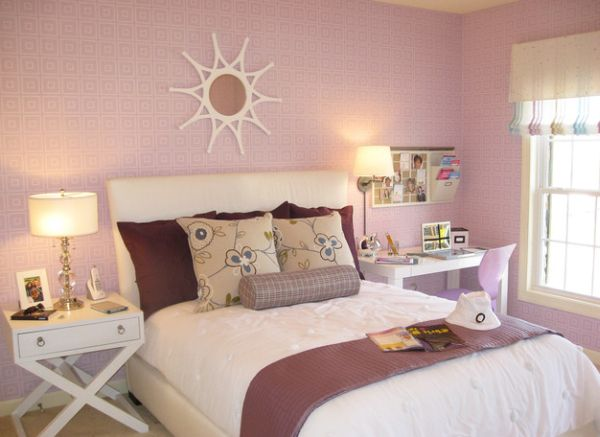 cool shade of pink can instantly transform your little girls bedroom 600x437