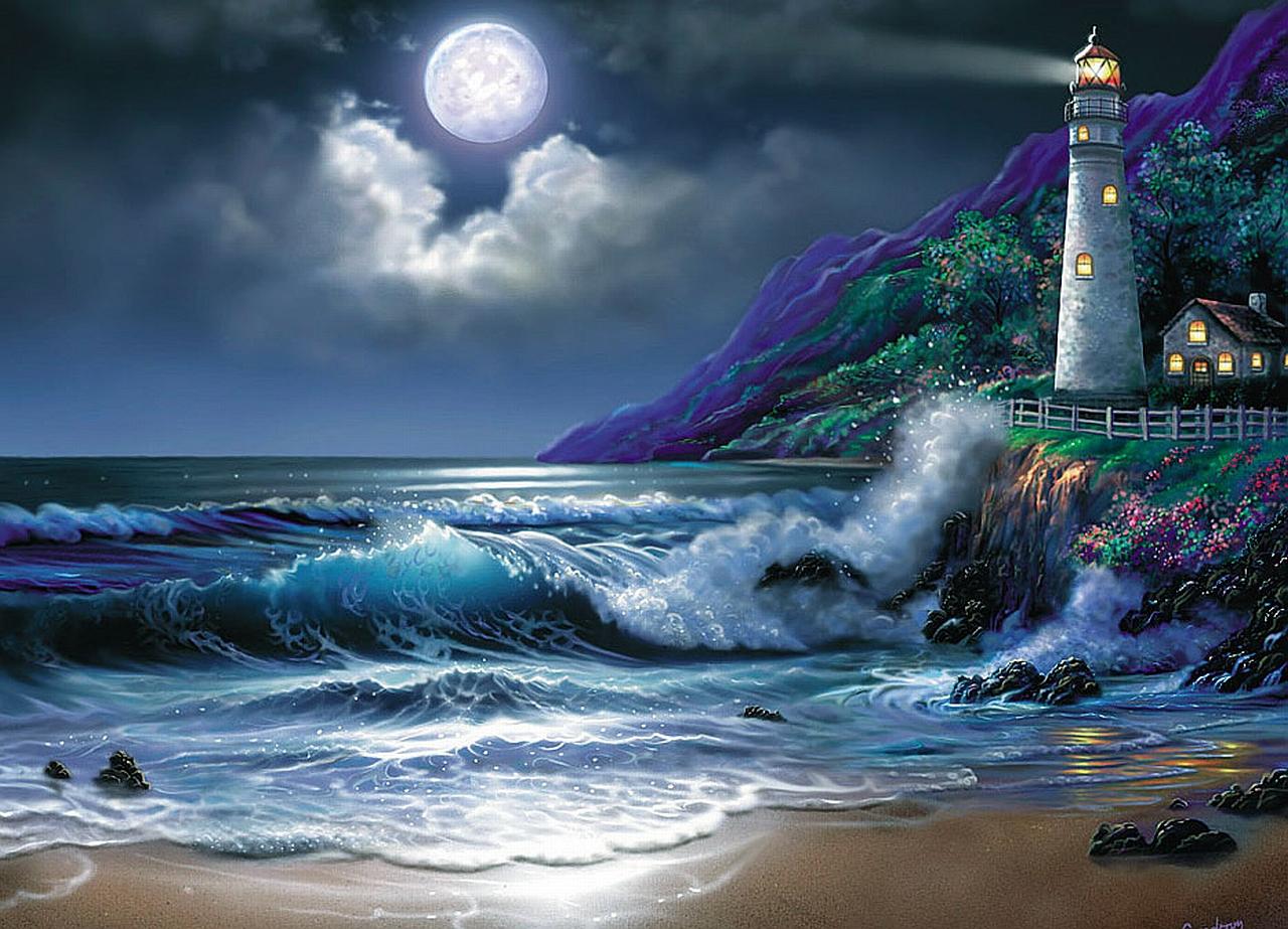 Man Made Lighthouse Wallpaper 1280x923 Man Made Lighthouse 1280x923