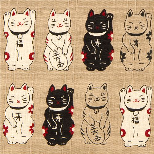 Japanese Tattoo Wallpaper: Japanese Lucky Cat Wallpaper
