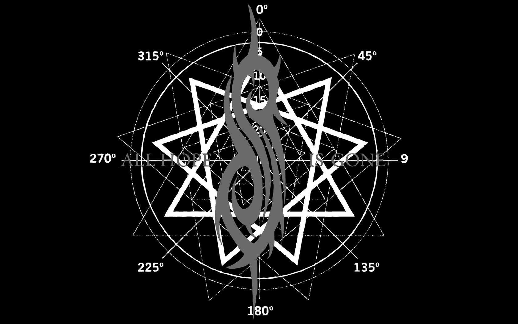 SlipknotLogo tribal de Slipknot Wallpapers Metal Bands 1680x1050