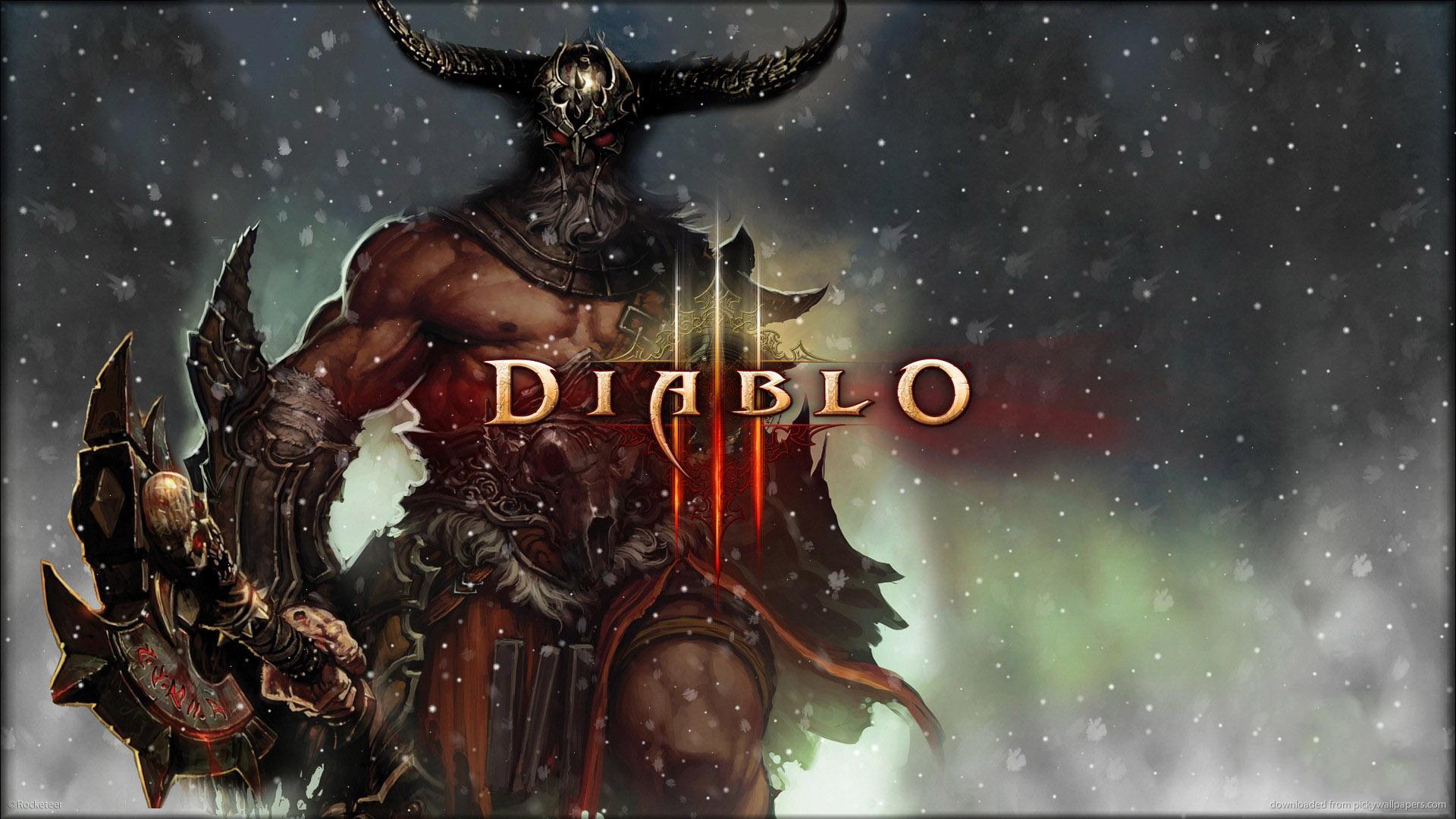 Diablo 3 Barbarian wallpaper   876995 1920x1080