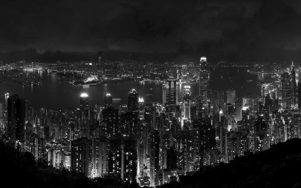 Stunning Cityscape Wallpaper Cityscape Skyline DesktopHive 1024x640