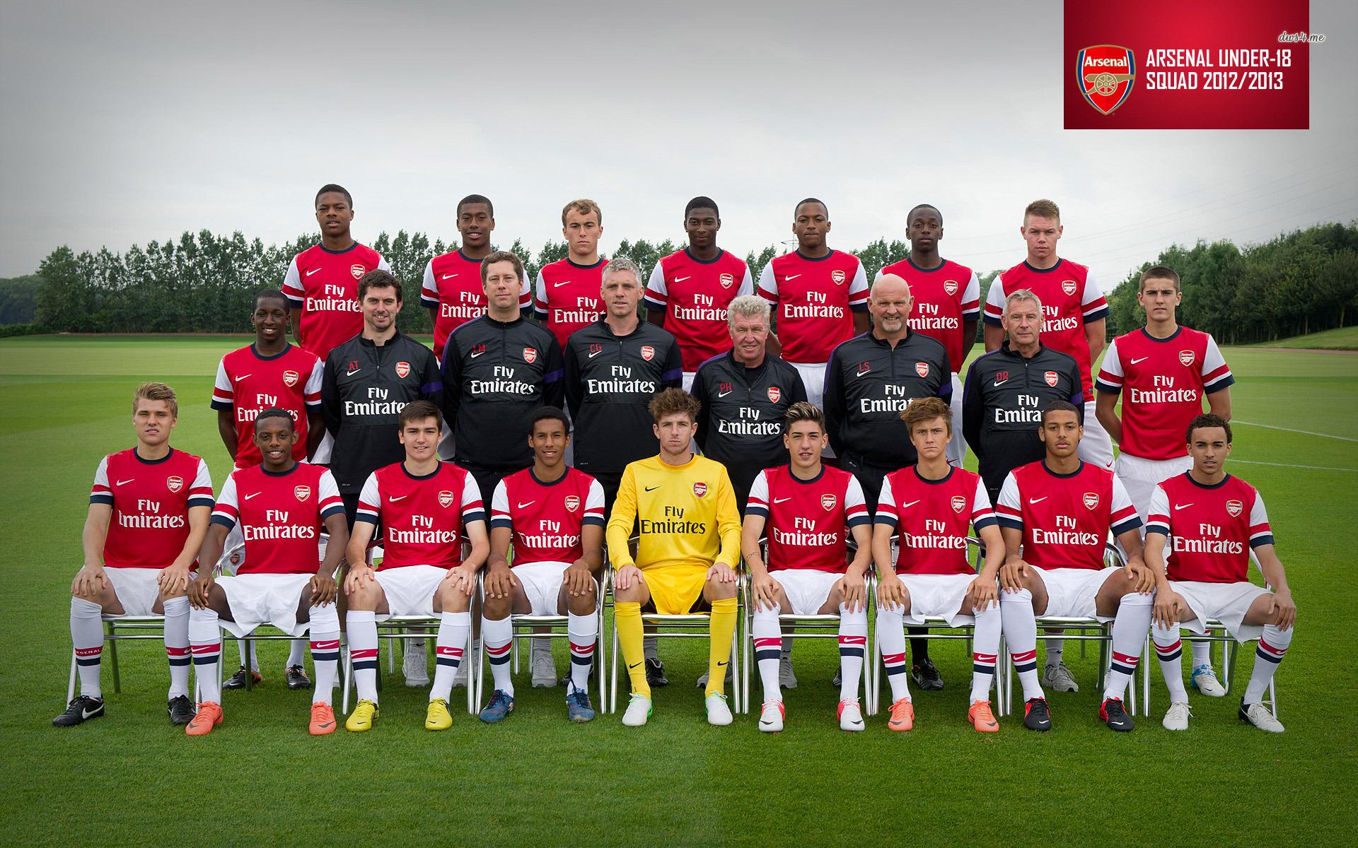 Arsenal Football Club Under 18 wallpaper   Sport wallpapers   20614 1920x1200