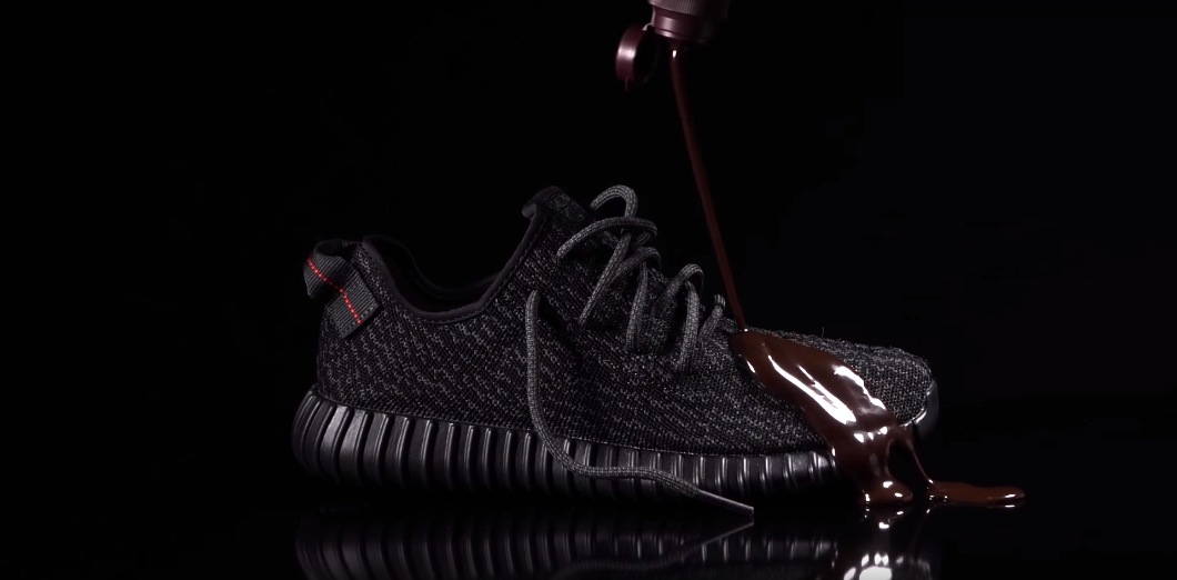 adidas Yeezy Boost 350 vs Chocolate Syrup Video by Crep Protect 1060x522
