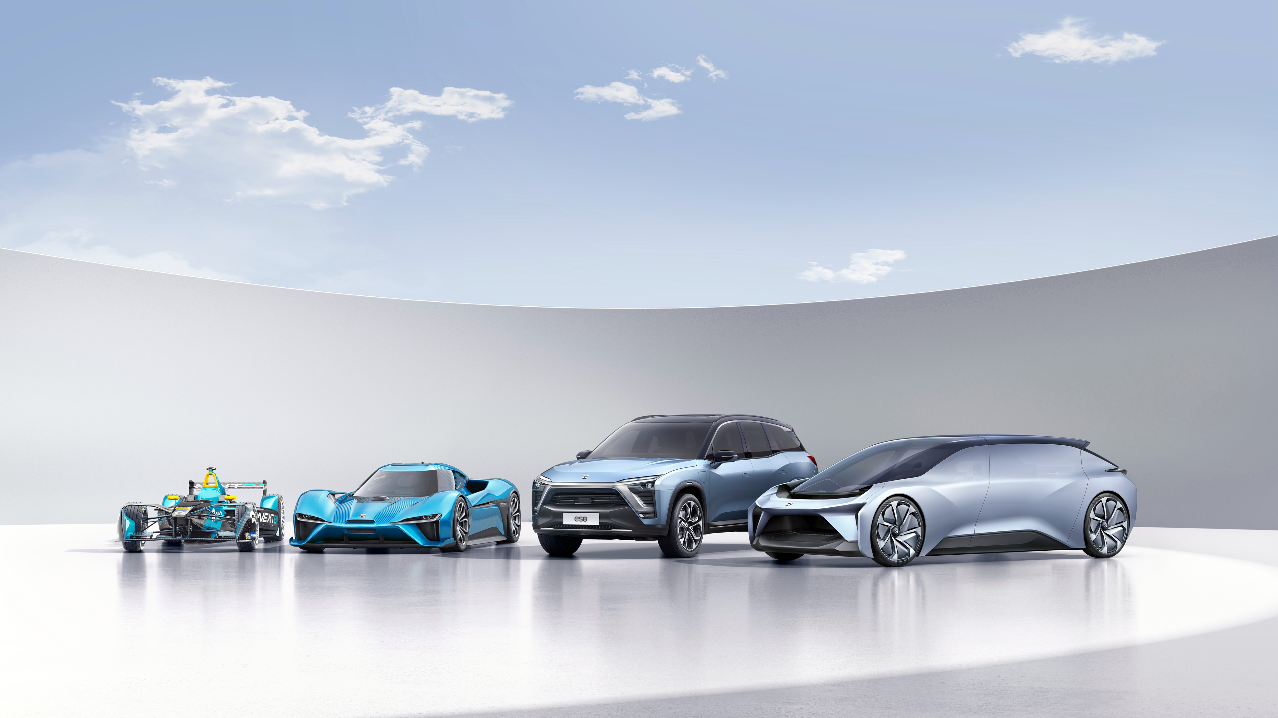 NextEV NIO Electric Cars 4K Wallpaper HD Car Wallpapers ID 7739 4096x2304