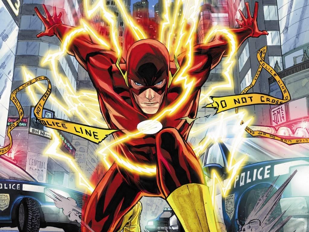The Flash 1024768 Wallpaper 637640 1024x768