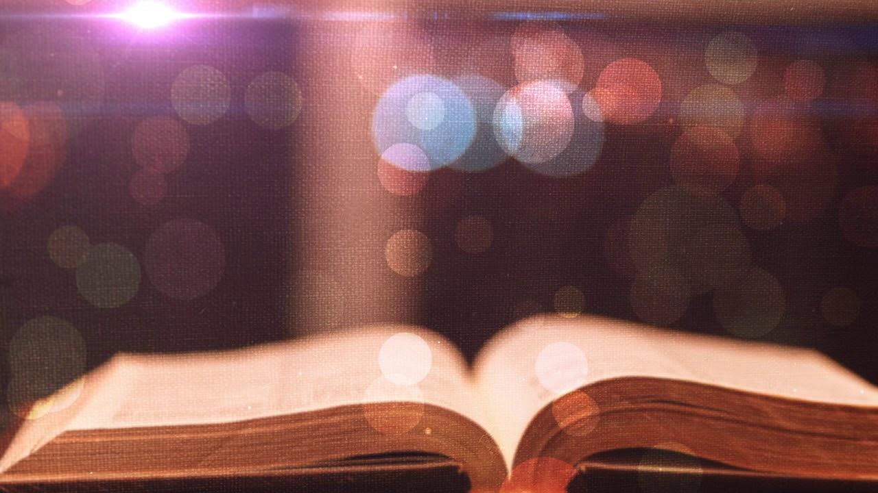 Open Bible Motion Worship Background   Videos2Worship 1280x720