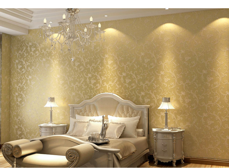 Gold Glitter Wallpaper For Walls Vintage glitter wall 750x550