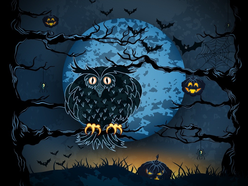 Weekend iPad Wallpapers Halloween Themed iPad Insight 1024x768