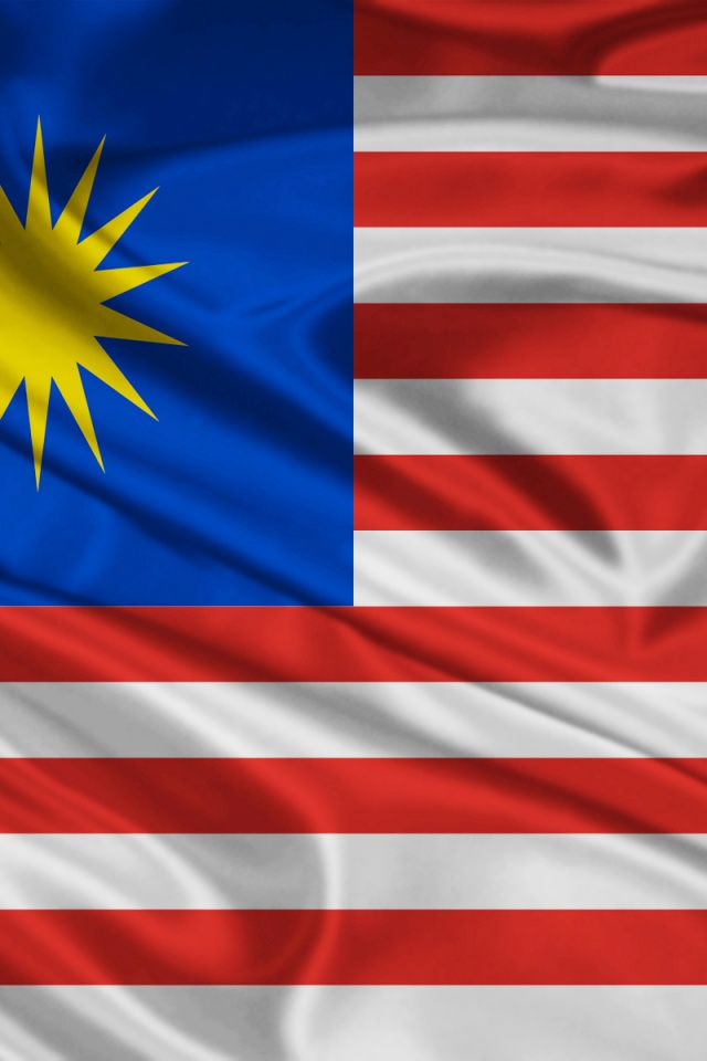 640x960 Malaysia Flag Iphone 4 wallpaper 640x960