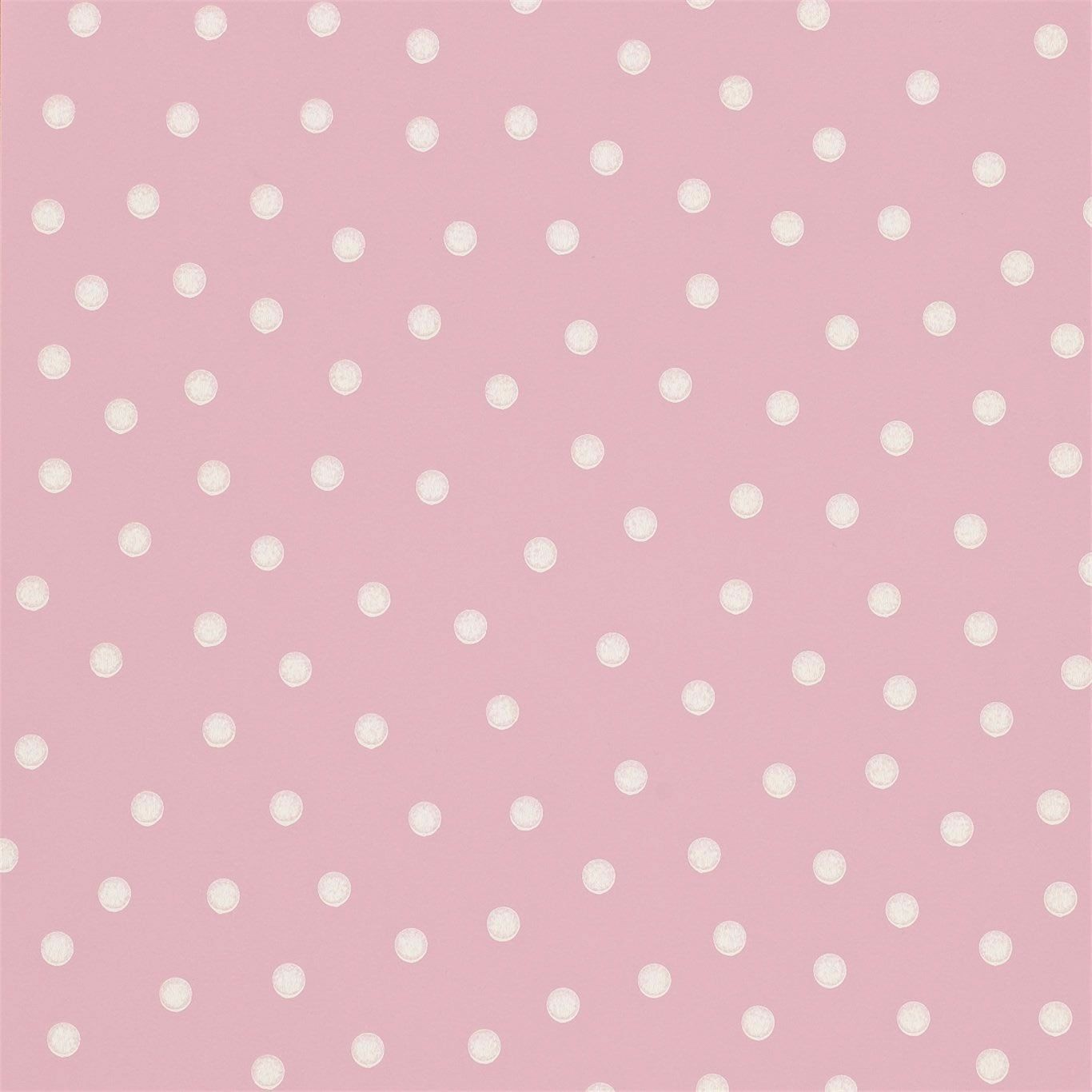 Pink   213616   Polka Dot   Emma Bridgewater   Sanderson Wallpaper 1366x1366