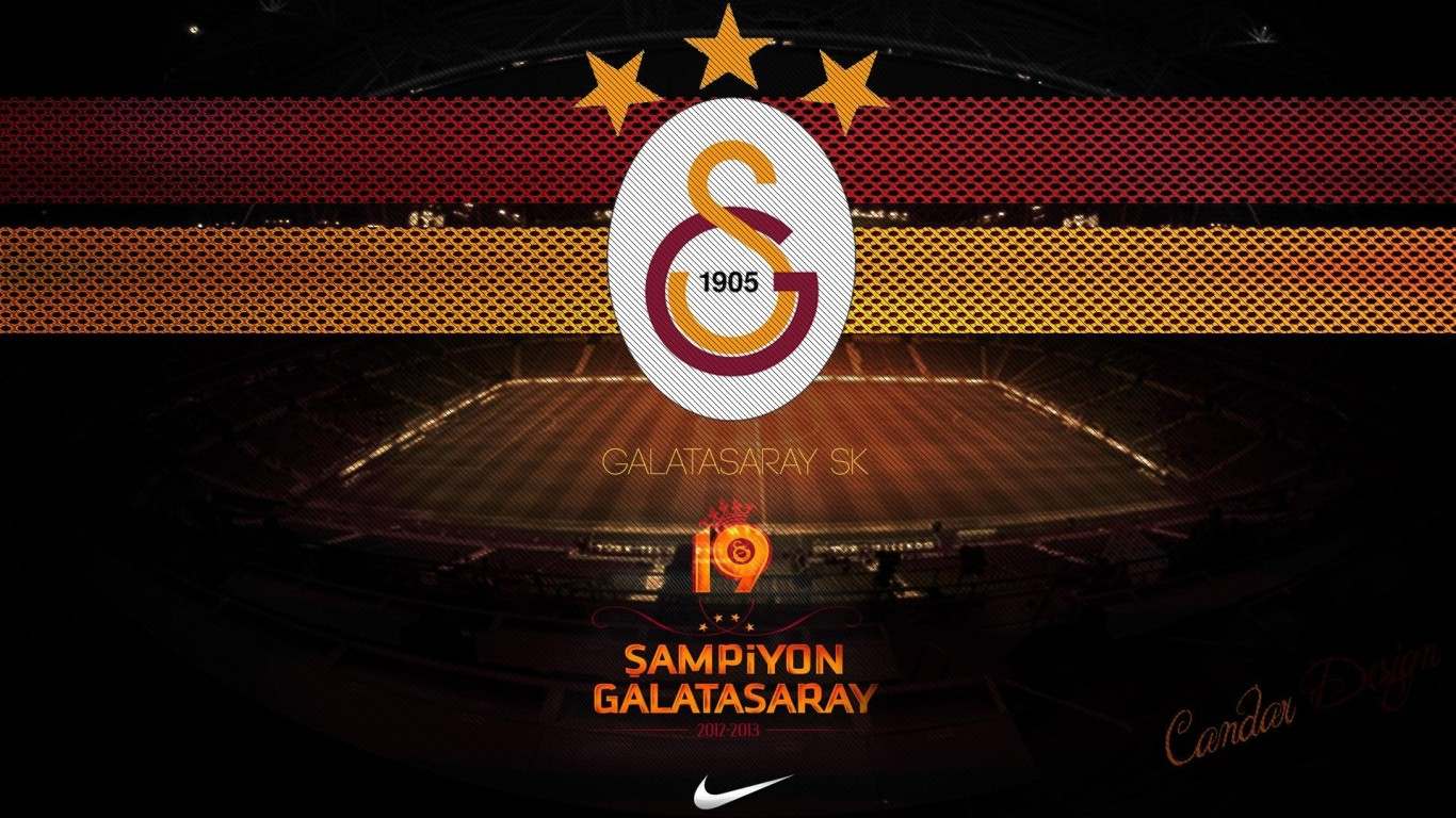 EKY 13 Galatasaray Wallpaper Pictures of Galatasaray HQFX 45 1366x768