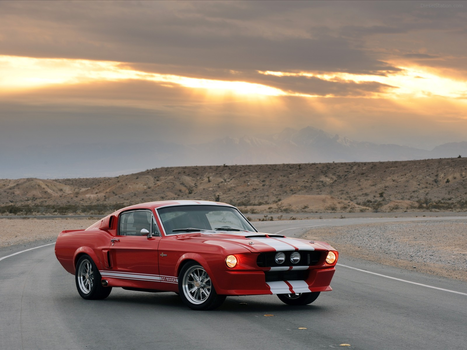 Mustang Fastback Shelby GT500CR 1967 Exotic Car Wallpaper 09 of 42 1600x1200
