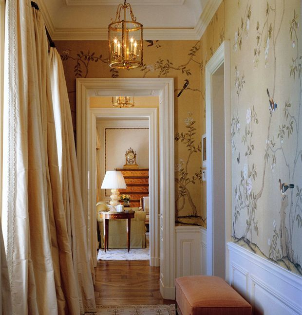 Weeks Worth of Wallpaper Ideas Chinoiserie   laurel home 620x647