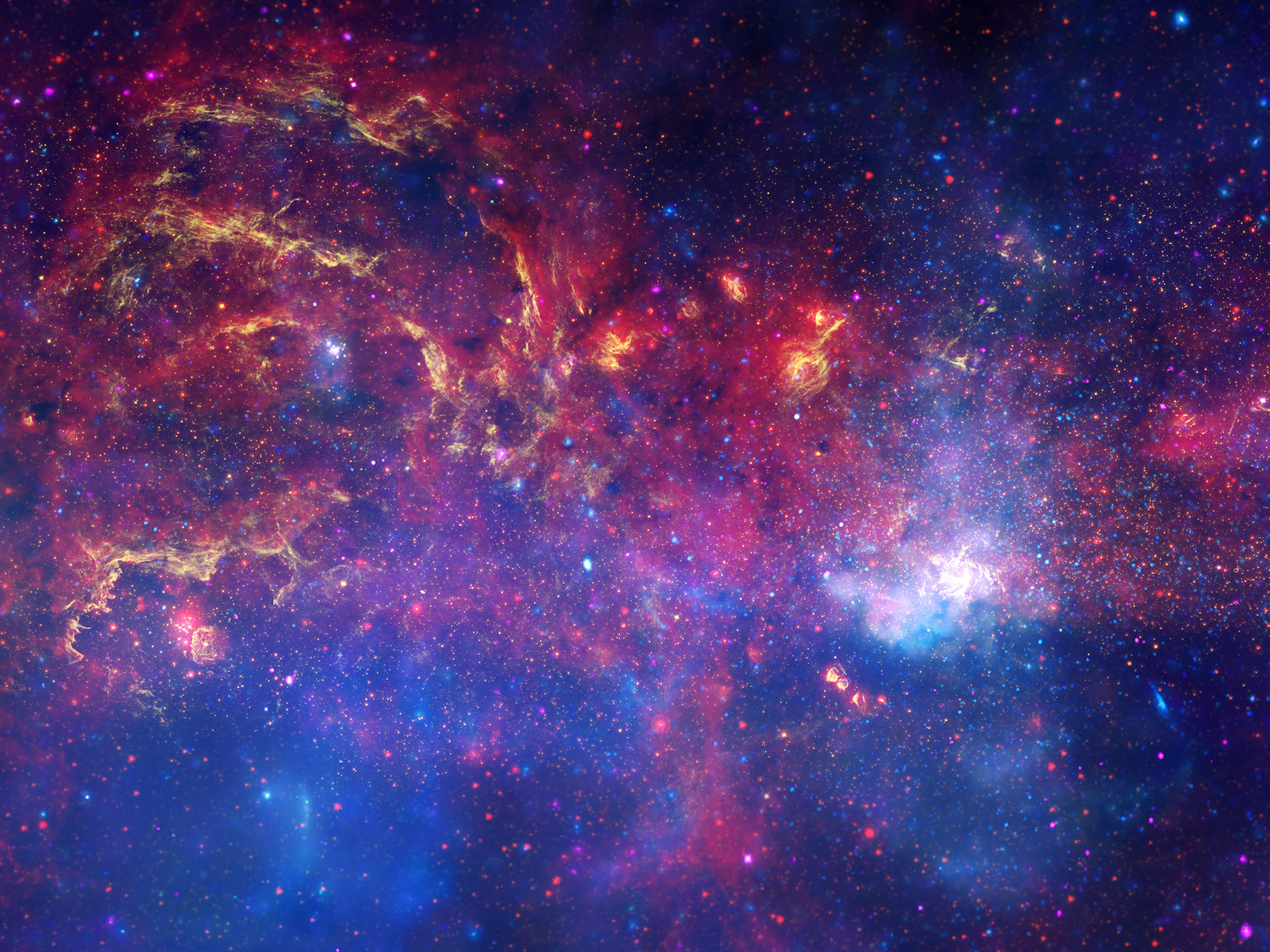 celebrates International Year of Astronomy with new view of Milky Way 1600x1200