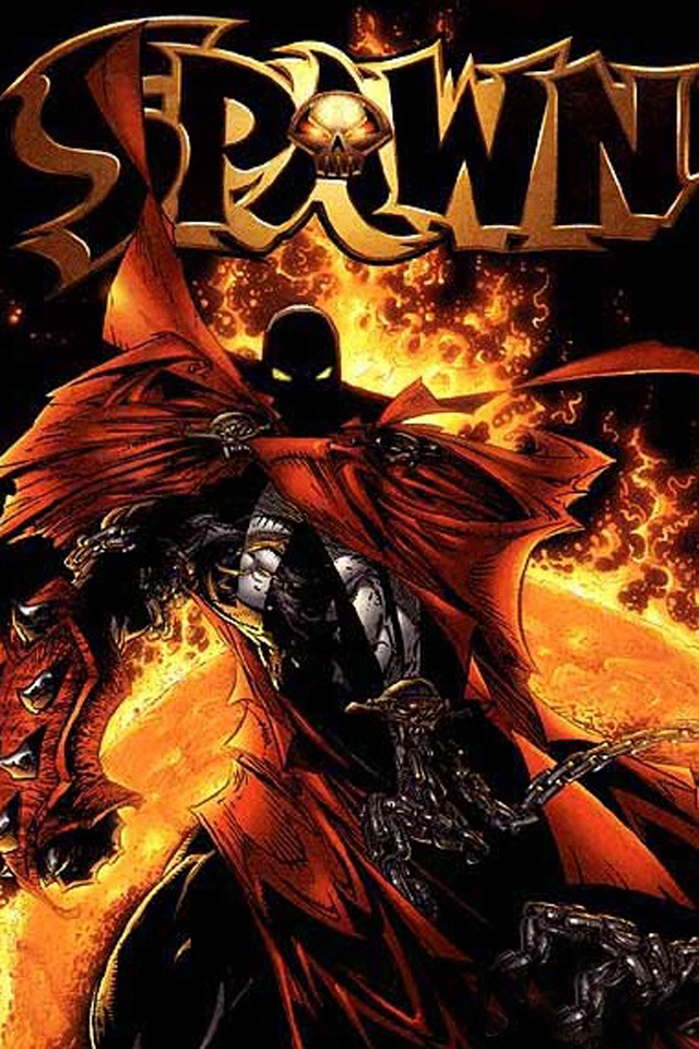 Spawn I4 drawns cartoons wallpaper for iPhone download free
