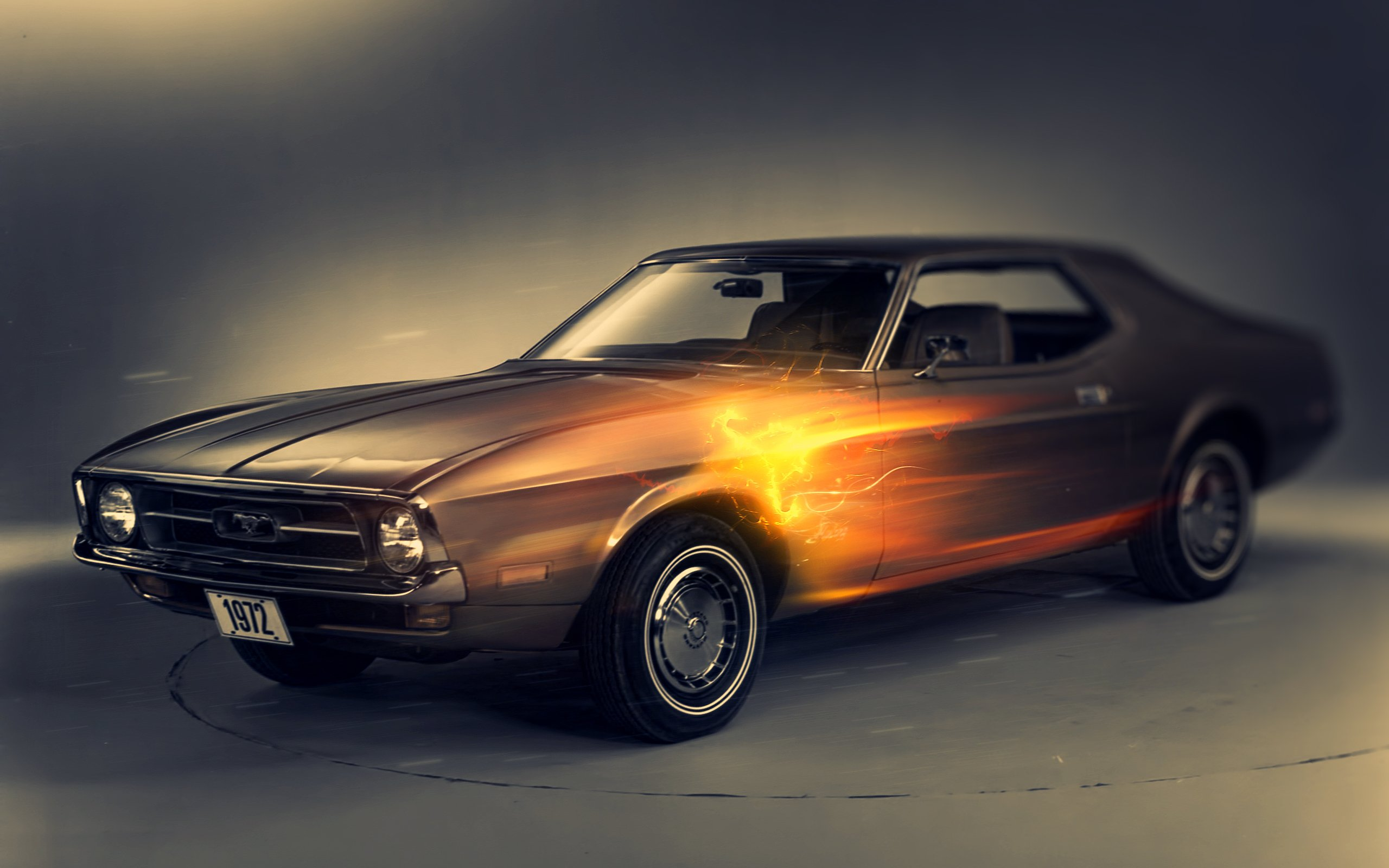 1972 Ford Mustang Wallpapers HD Wallpapers 2560x1600