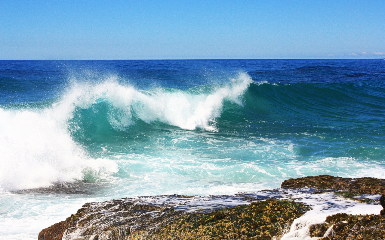 Small Sea Wave Wallpapers Best HD Wallpapers 1280x800