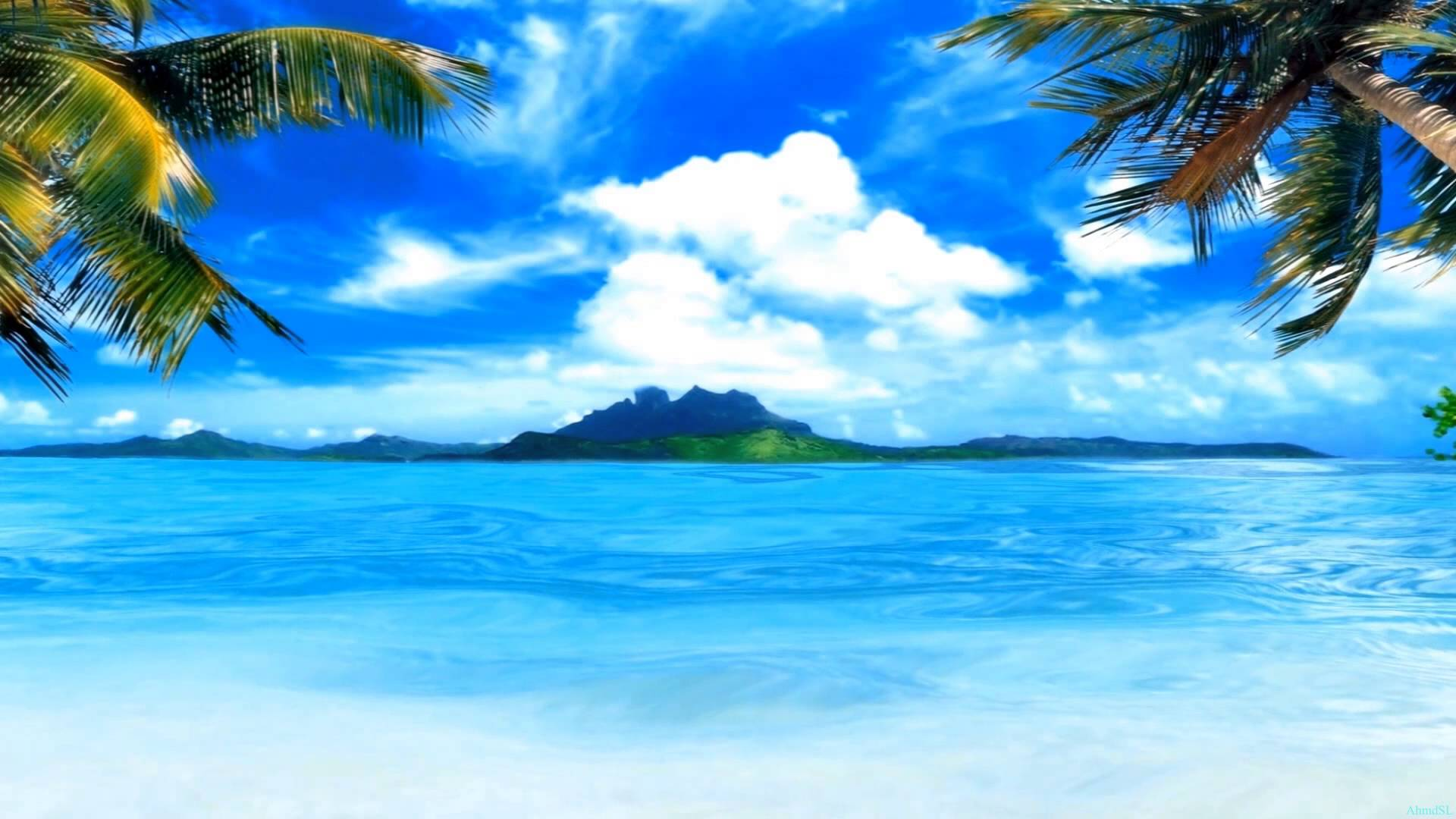 moving beach backgrounds for wallpaper - photo #5