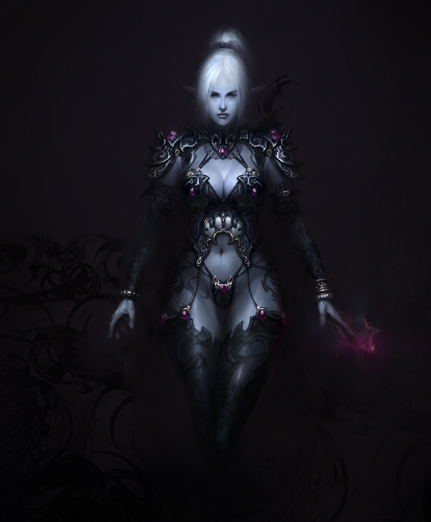 Dark Elf by agnidevi 840x1018