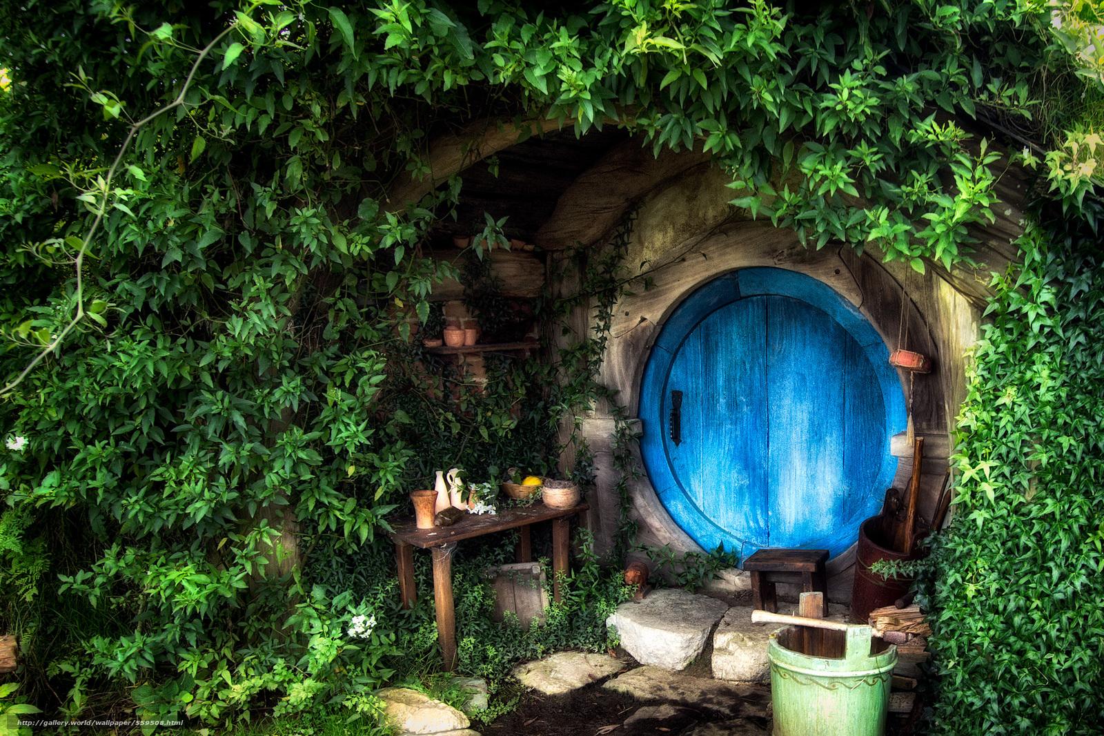 Baixar Wallpaper O Hobbit House O Senhor dos Anis interior Papis 1600x1066