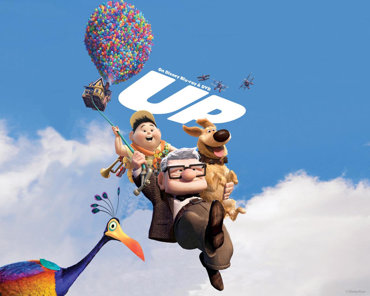 wa11papers top Up Wallpaper Pixar 1280x1024