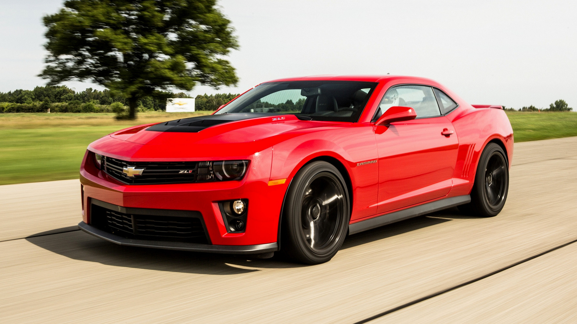 Chevrolet Camaro ZL1 2012 Wallpapers and HD Images 1920x1080