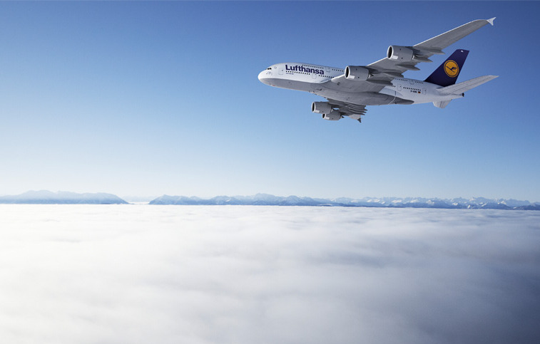 airbus a380 wallpaper Lufthansa Airbus A380 First Flights 757x483