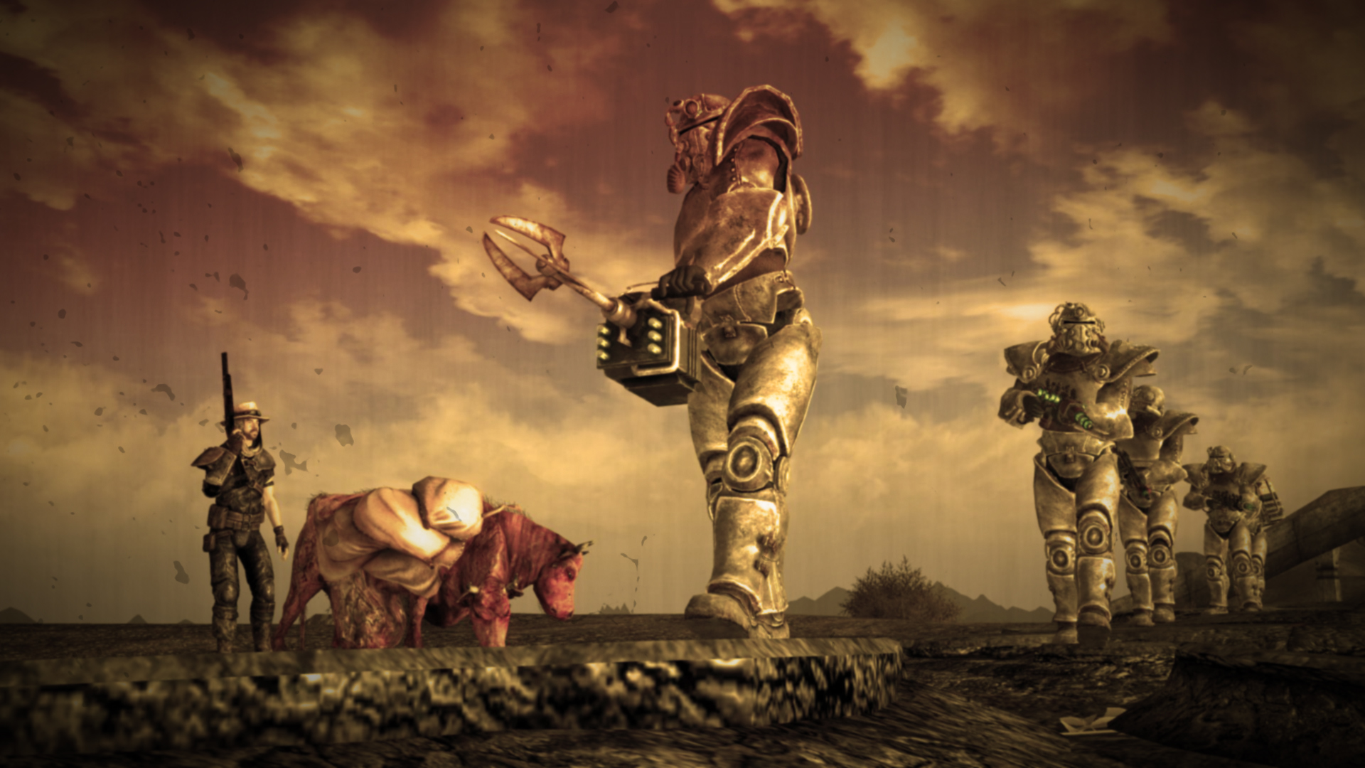 Fallout 3 Wallpaper Brotherhood Of Steel Fallout 3 brotherhood of 1920x1080