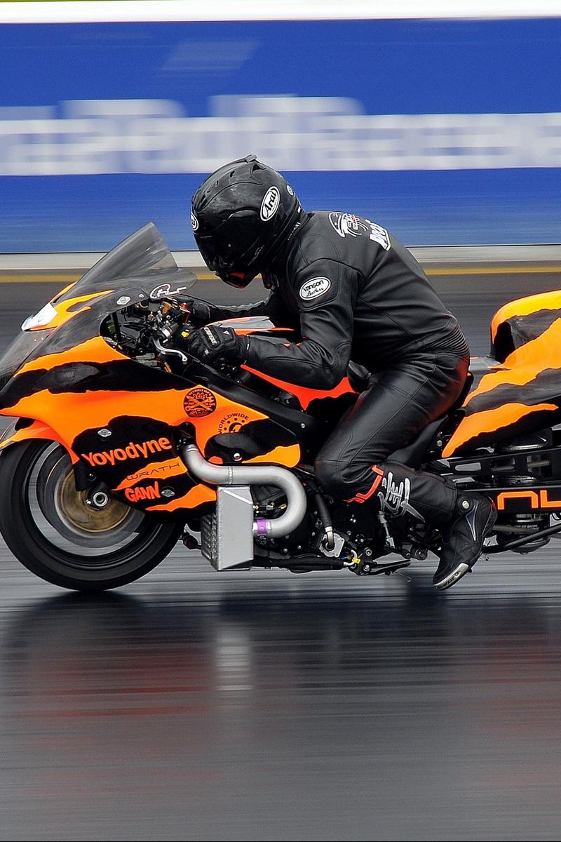 Download wallpaper 800x1200 motorcycle bike racing sports 800x1200