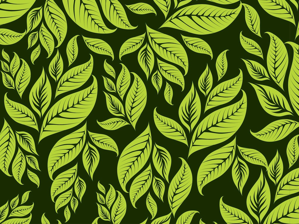 Leaves Pattern 1024x768