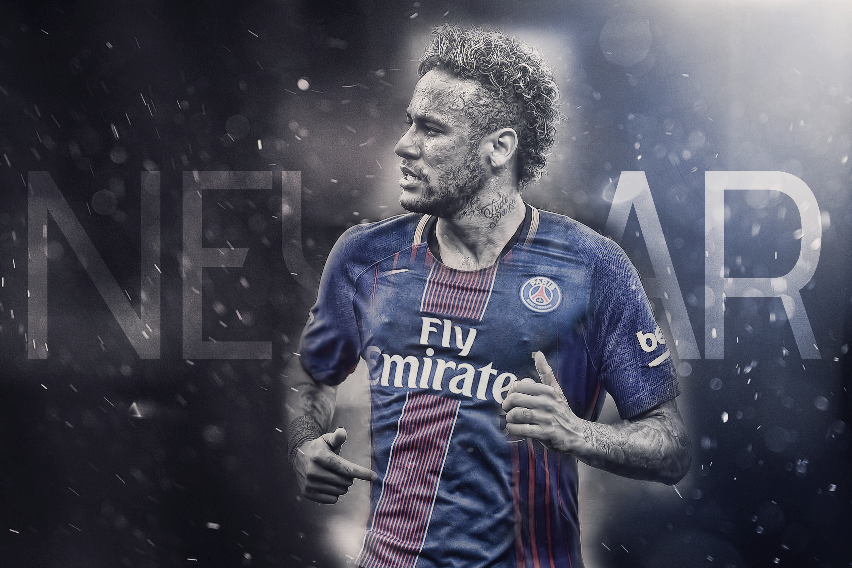Neymar Welcome to PSG by HyDrAndre 3000x2000