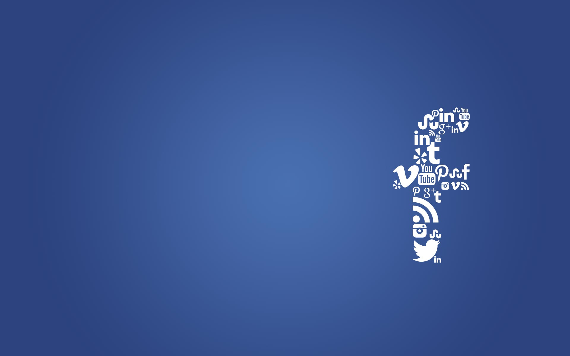 Facebook Logo Design Wallpaper size 1920x1200 1920x1200