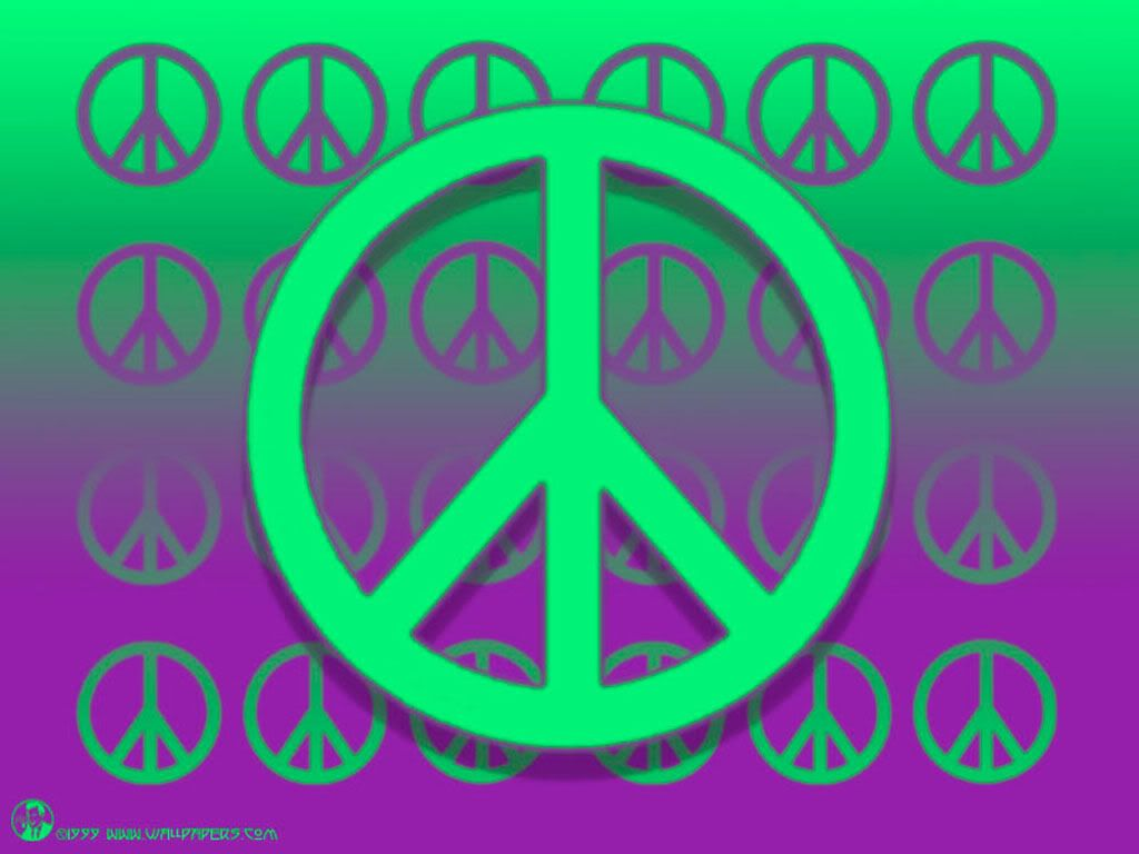 Cool Peace Sign Backgrounds 1024x768