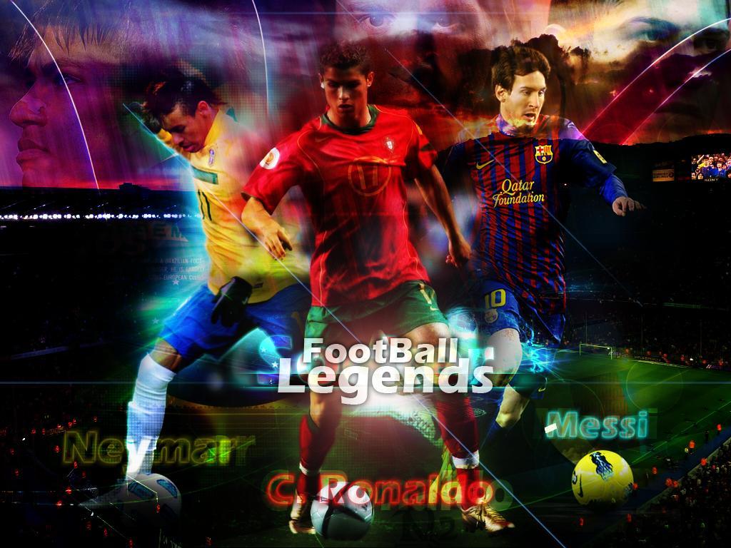 Messi Ronaldo Neymar 2013 Wallpaper Football wallpapers 1024x768