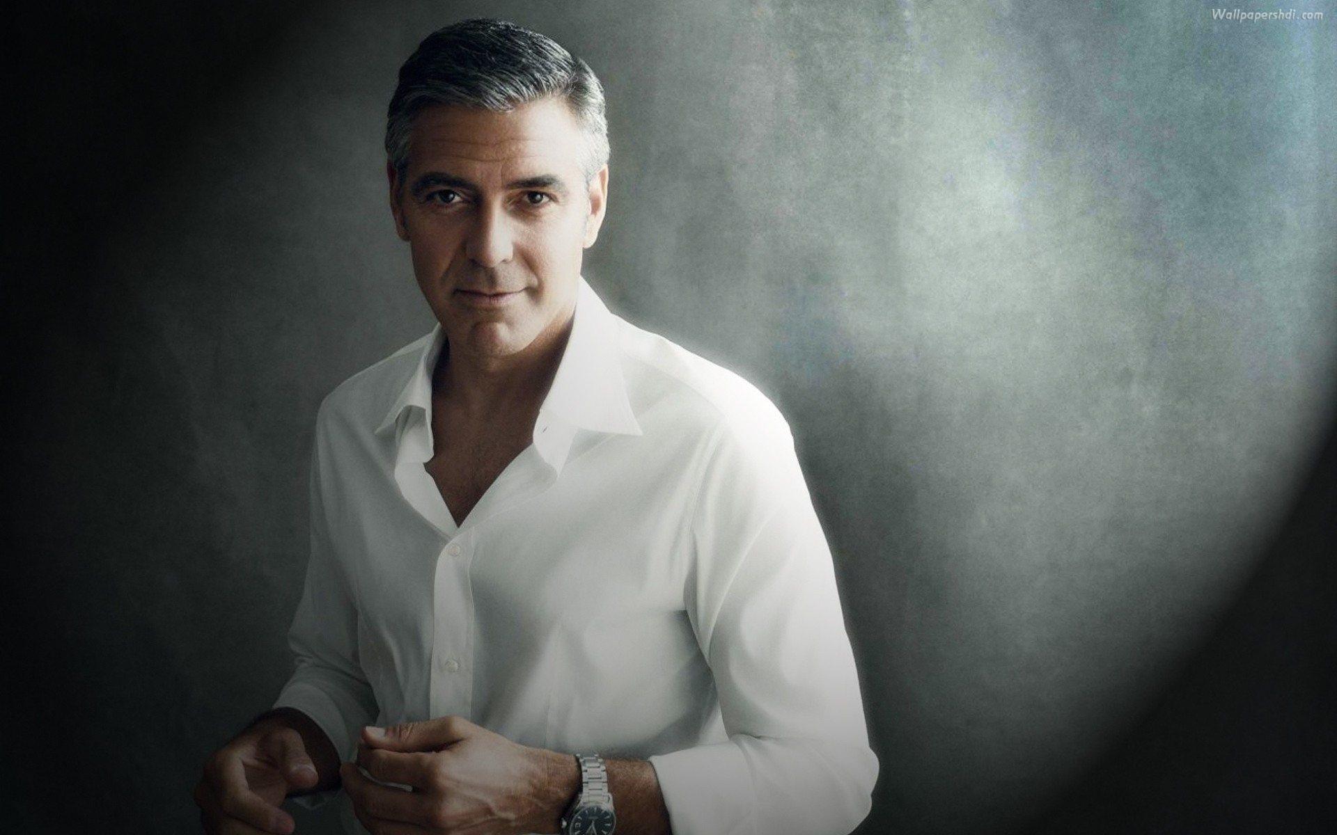 George Clooney Desktop Backgrounds 1920x1200