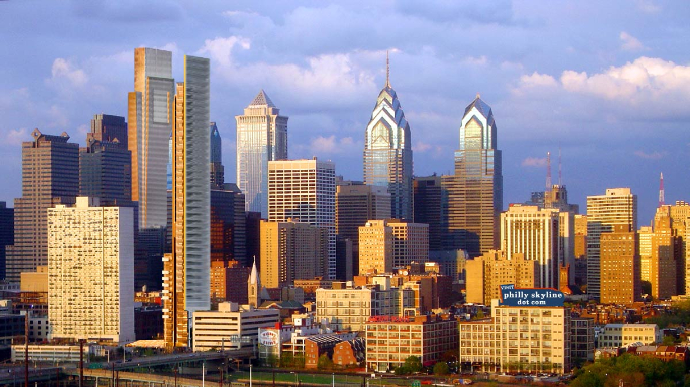 philadelphia skyline wallpaper - photo #15