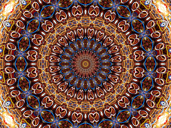 stretch rubber mandala abstract backgrounds textures patterns 600x450