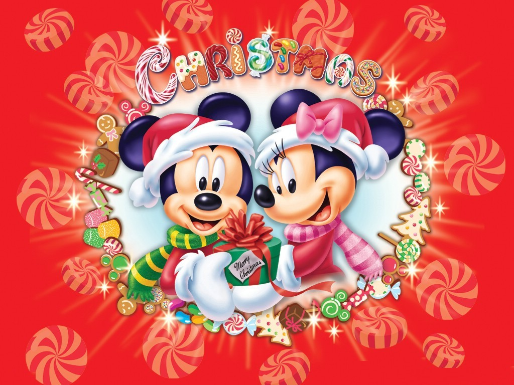 Christmas Disney Wallpaper - WallpaperSafari