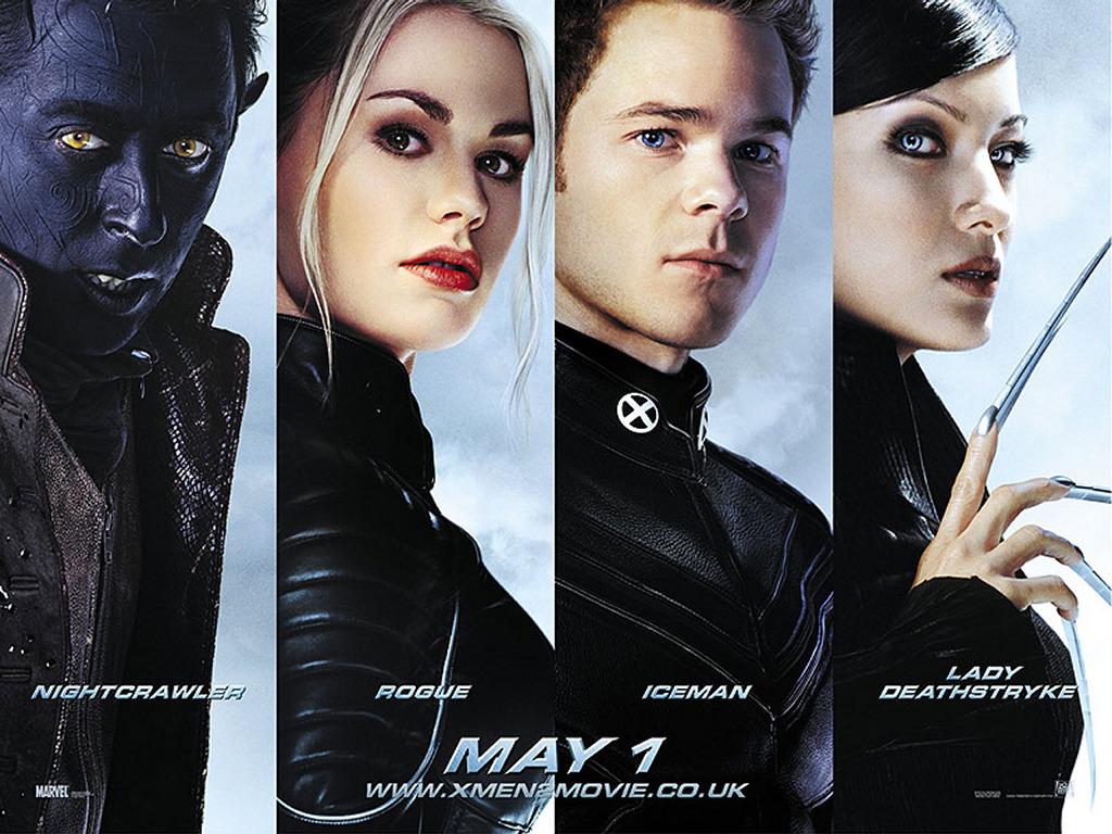 X Men   X Men films Wallpaper 28885649 1024x768